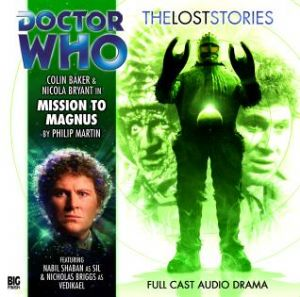 "Big Finish ""Mission to Magnus"" signed by Colin Baker"